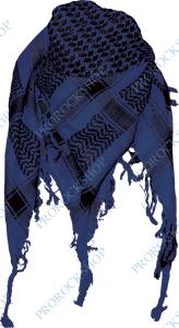 aea7ac313a6 šátek palestina - arafat - Modrý s černým vzorem - ProRockShop