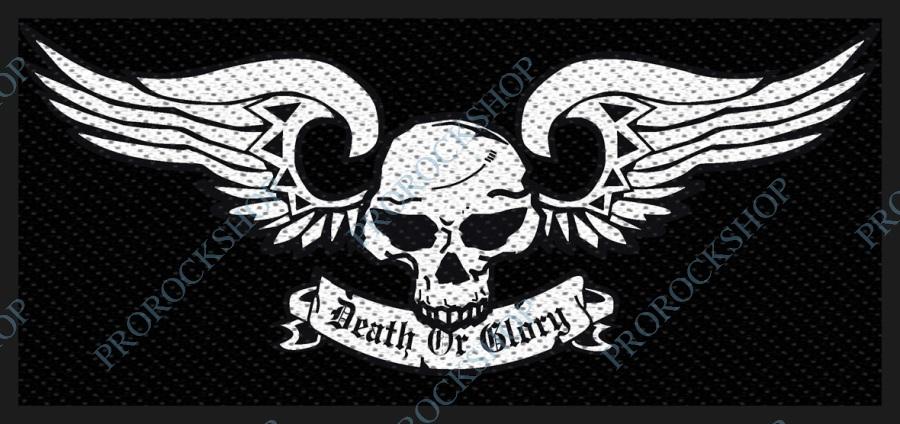 nášivka Death Or Glory - ProRockShop 85d9de77a2