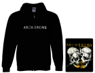 mikina s kapucí a zipem Arch Enemy - Black Earth
