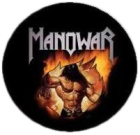 placka / button Manowar
