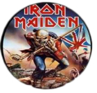 placka / button Iron Maiden